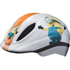 KED Meggy Originals - Casco de bicicleta Niños - blanco/Multicolor